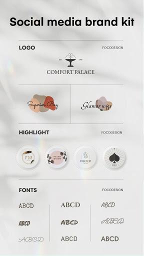 FocoDesign: Graphic Design, Video Collage, Logo android2mod screenshots 6