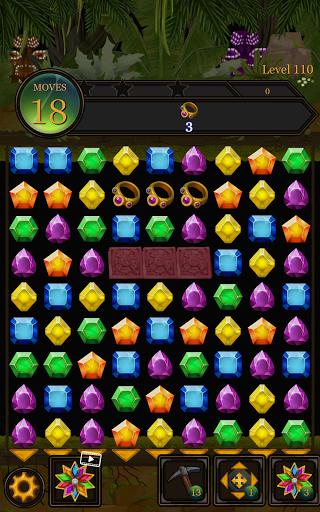 Secret Jungle Pop : Match 3 Jewels Puzzle Apkfinish screenshots 15