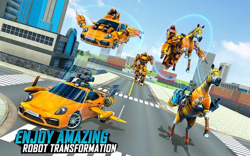 Horse Robot Transforming Game: Robot Car Game 2020 1.12 screenshots 1