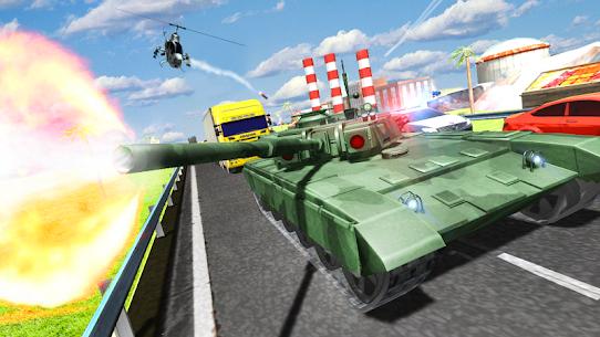 Tank Traffic Racer v 1.4 [Много денег] 1