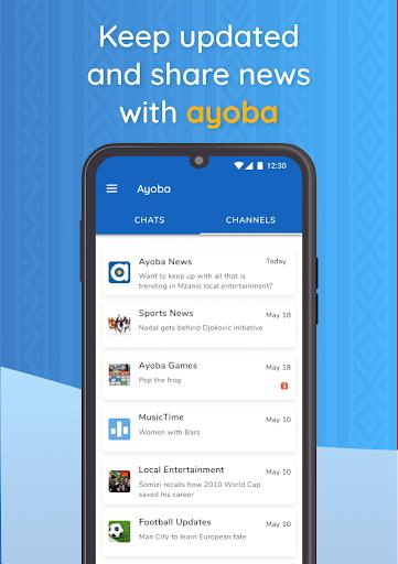 Ayoba! Free instant messaging 0.36.1 Screenshots 3