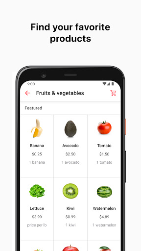 Cornershop by Uber: Grocery Delivery 2.5.6 screenshots 1