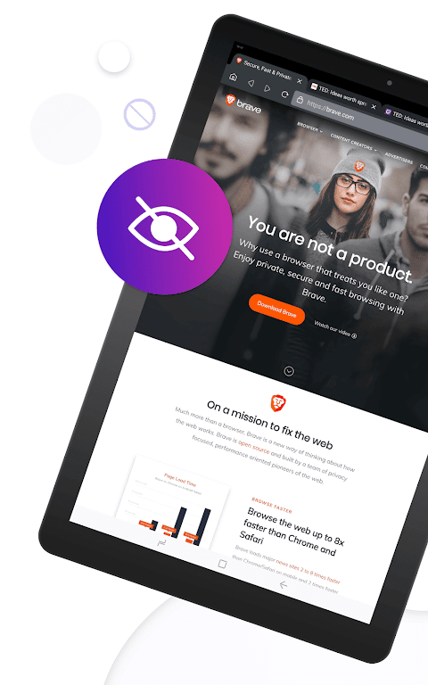 Brave Private Browser: Fast, secure web browser  poster 7