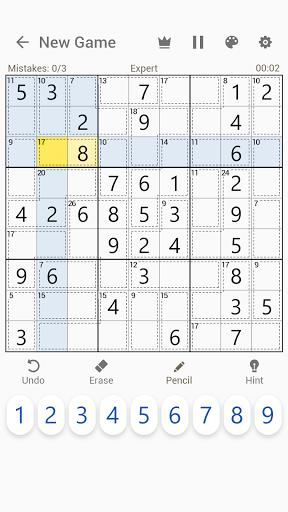 Killer Sudoku - Free Sudoku Puzzles+  screenshots 5