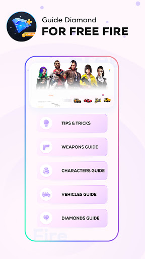 Guide and Free Diamonds for Free screen 0