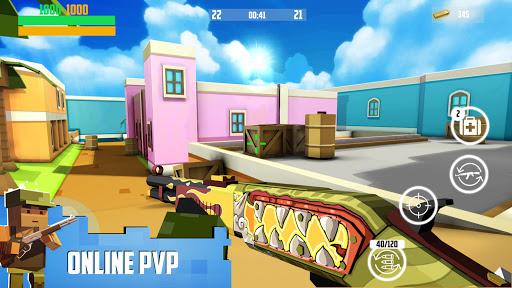 Block Gun: FPS PvP War - Online Gun Shooting Games apkslow screenshots 21