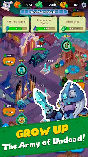 Samedi Manor: Idle Simulator apkpoly screenshots 3