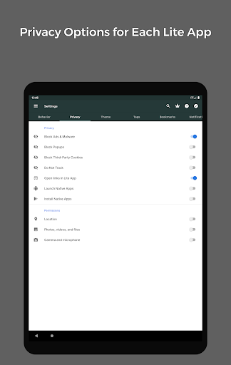 Hermit u2022 Lite Apps Browser 16.5.1 Screenshots 15
