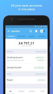 Bankin' - The money and banking app manager Apkfinish screenshots 4