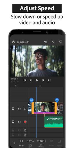 Adobe Premiere Rush — Video Editor screen 1