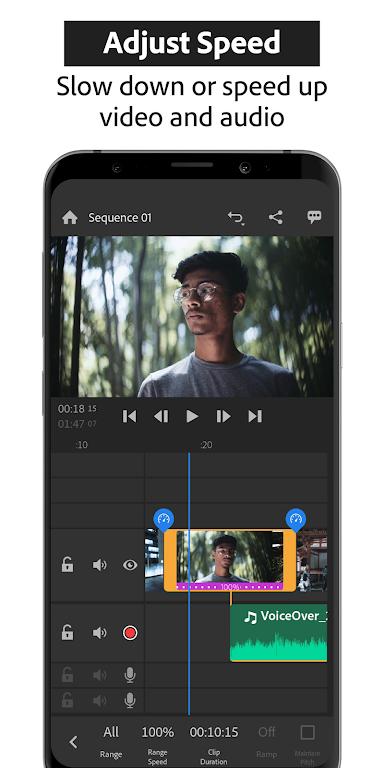 Adobe Premiere Rush — Video Editor poster 1