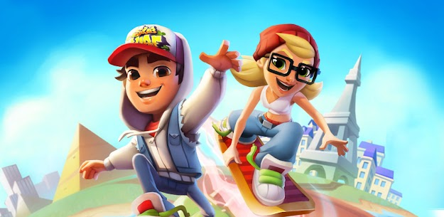 Subway Surfers MOD APK 2.20.1 (Unlimited money, keys, hoverboards and boosters) 14