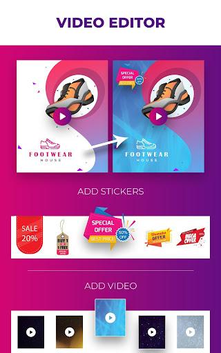 Video Flyers - Flyer Maker, Make Poster, Video Ads 21.0 Screenshots 17