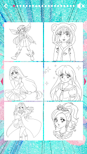 Anime Coloring book 1