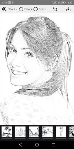 Pencil Photo Sketch-Sketching Drawing Photo Editor  Screenshots 3