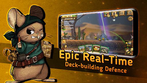 Ratropolis : CARD DEFENSE GAME apkdebit screenshots 1