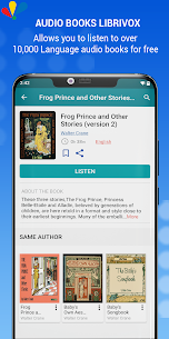 LibriVox AudioBooks Mod Apk: Listen free audio books (Pro Unlocked) 3