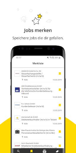 Jobbu00f6rse - Jobs finden auf meinestadt.de android2mod screenshots 5