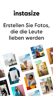 Instasize Foto Bearbeiten + Bilder Collage Screenshot