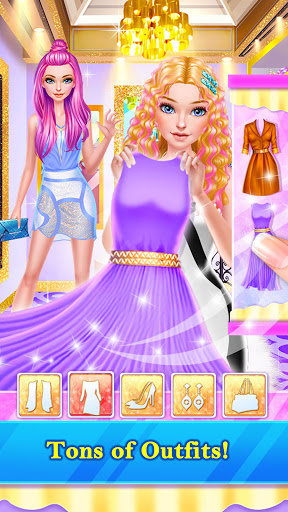 Hair Stylist Fashion Salon ❤ Rainbow Unicorn Hair 2.0 screenshots 2