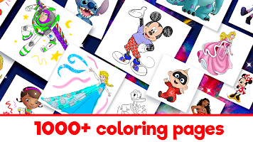Disney Coloring World - Color & Play Kids Games