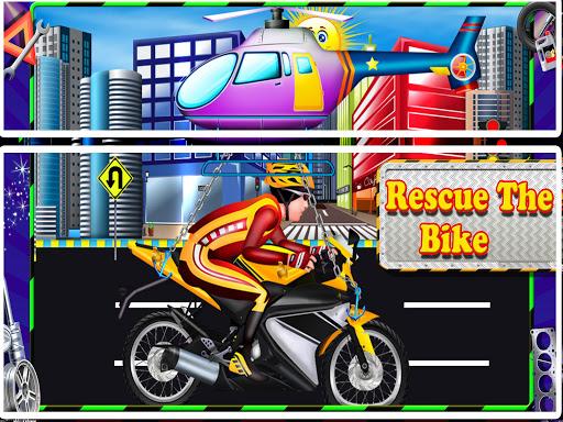 Repair Master 2D: Bike Mechanic Simulator Game screenshots 4