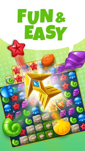 Ocean Splash Match 3: Free Puzzle Games 3.6.0 screenshots 3