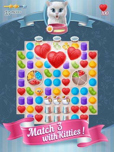 Knittens - A Fun Match 3 Game 1.48 screenshots 9