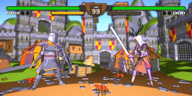Fantasy Fighter: King Fighting Game Online Screenshot