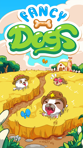 Fancy Dogs - Cute dogs dress up and match 3 puzzle Apkfinish screenshots 12