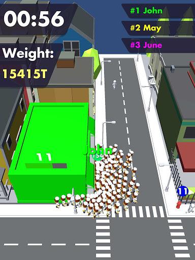 Crowd Buffet - Fun Arcade .io Eating Battle Royale android2mod screenshots 8