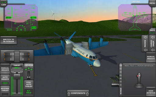Turboprop Flight Simulator 3D 1.24 screenshots 12