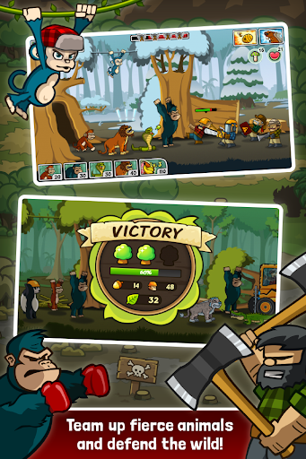 Lumberwhack: Defend the Wild modiapk screenshots 1