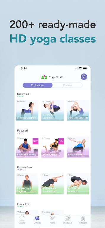 Yoga Studio: Poses & Classes  poster 2