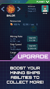 Idle Planet Miner MOD (Free Shopping) 4