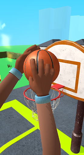 Dribble Hoops Apkfinish screenshots 2