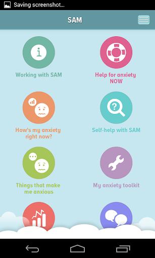 self-help anxiety management screenshot 1