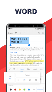 WPS Office Mod Android 1