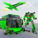 陸軍バスロボットゲーム–ロボットカーゲーム