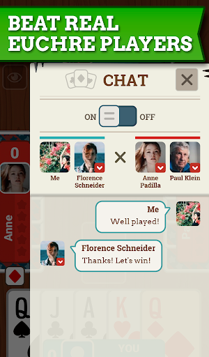 Euchre Free: Classic Card Games For Addict Players 3.7.8 screenshots 11