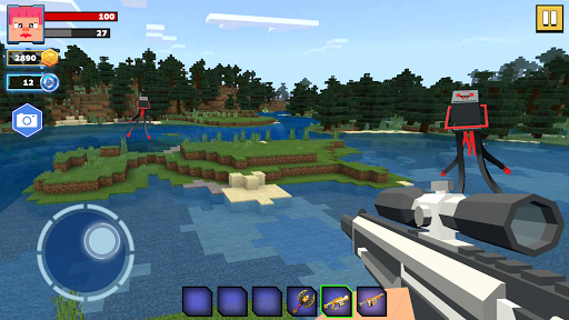 Fire Craft: 3D Pixel World android2mod screenshots 10