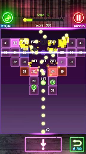 Bricks Breaker Melody 1.0.34 screenshots 2