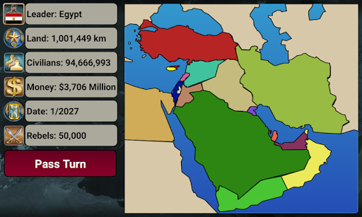 Middle East Empire 2027  screenshots 2