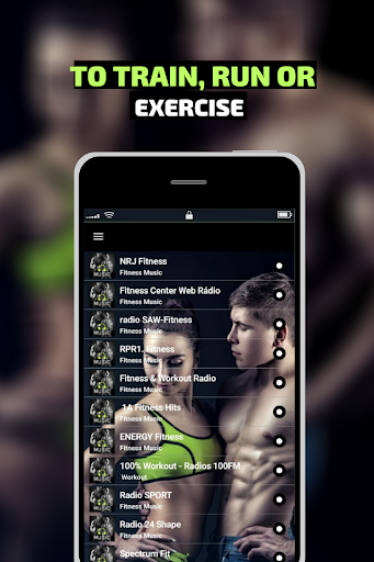 Fitness Music Workout Radio 1.3 screenshots 2