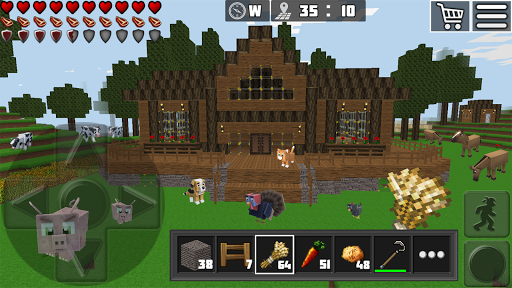 WorldCraft: 3D Build & Block Craft 3.7.1 Screenshots 10