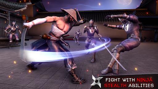 Ninja Assassin War 3D: Fighting Game  screenshots 2