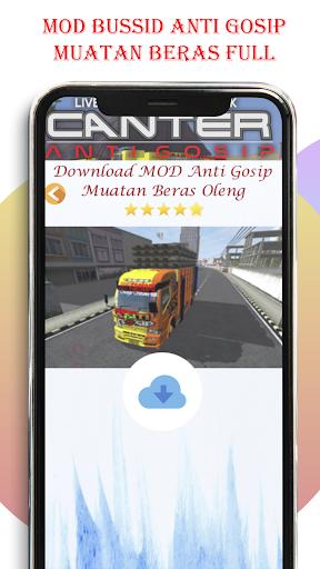 Livery Bussid Mod Truck Canter Anti Gosip  Screenshots 4