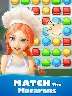 Sweet Macaron : Match 3