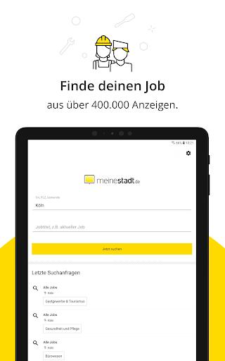 Jobbu00f6rse - Jobs finden auf meinestadt.de android2mod screenshots 7