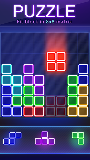 Glow Block Puzzle 1.8.8 screenshots 1